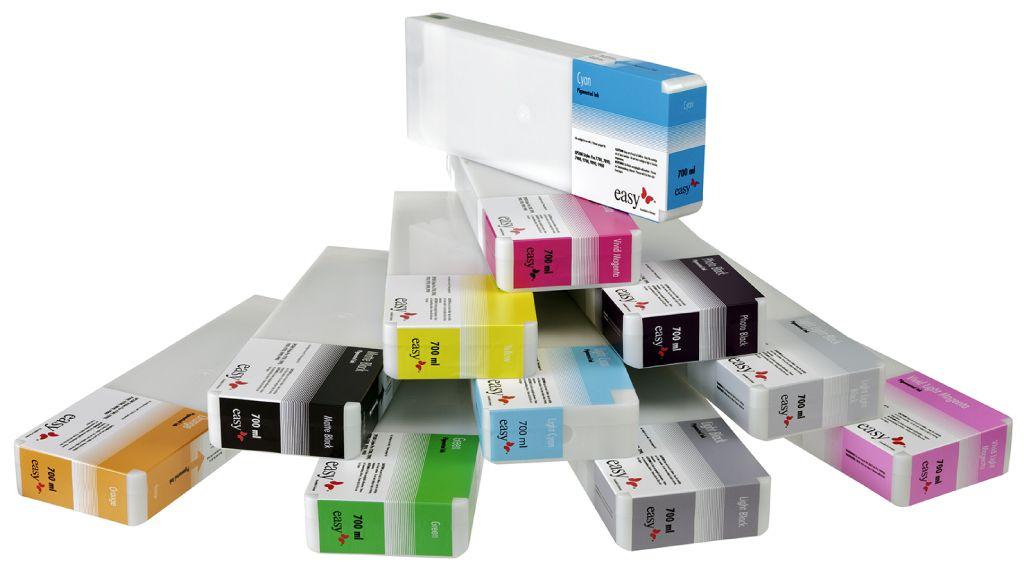 Easy Inks 700ml Cartridges for Epson Stylus Pro 7700 / 7890 / 7900 / 9700 /  9890 / 9900 / 9910
